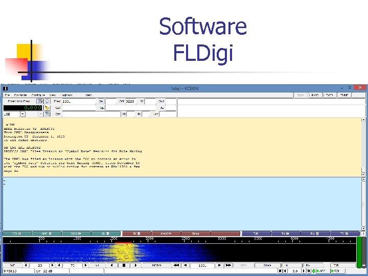 Software FLDigi