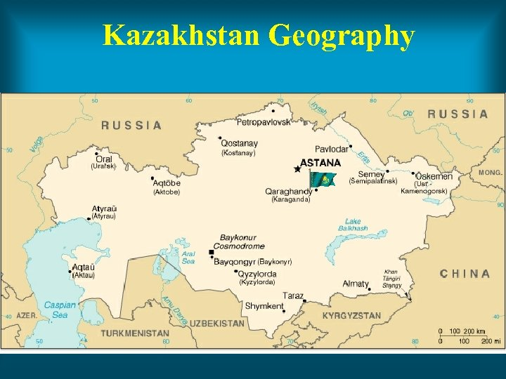 Kazakhstan Geography