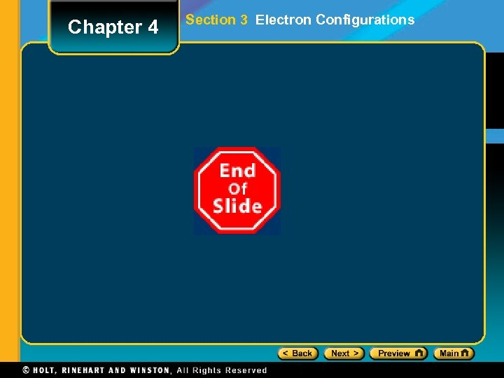 Chapter 4 Section 3 Electron Configurations