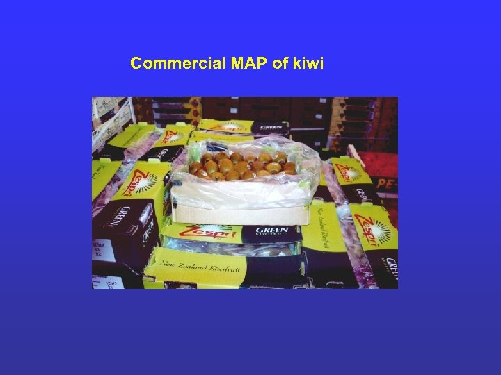 Commercial MAP of kiwi