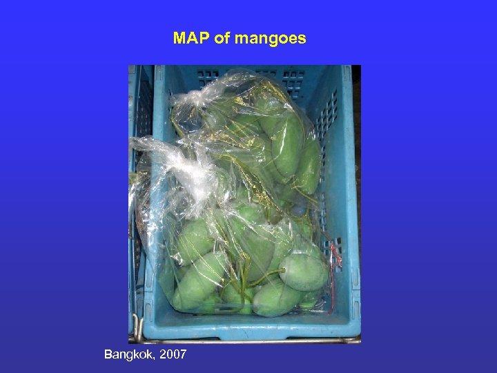 MAP of mangoes Bangkok, 2007