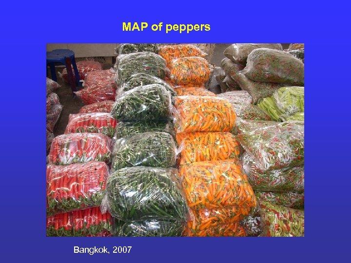 MAP of peppers Bangkok, 2007