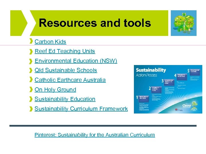 Resources and tools Carbon Kids Reef Ed Teaching Units Environmental Education (NSW) Qld Sustainable