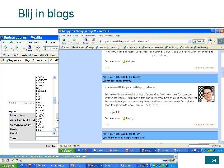 Blij in blogs 54