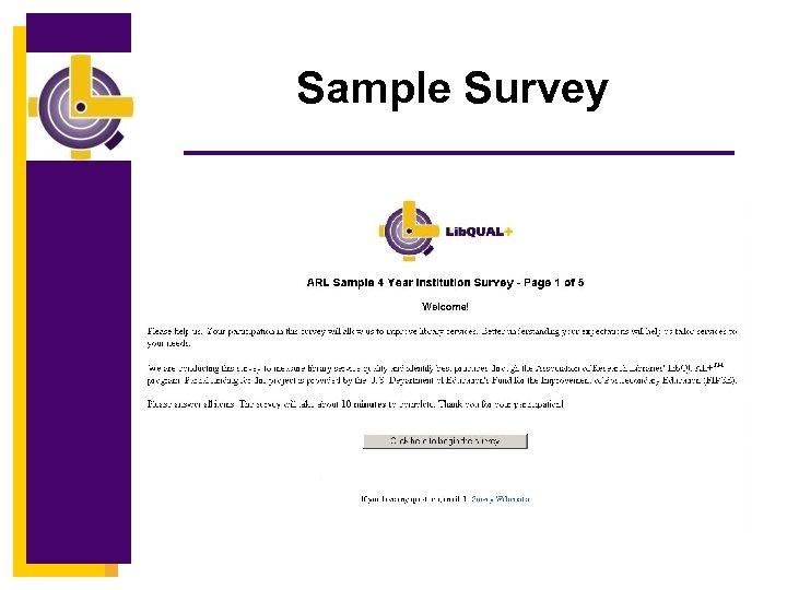 Sample Survey