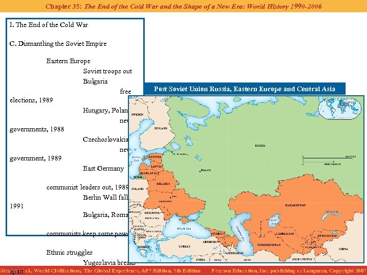 Chapter 35: The End of the Cold War and the Shape of a New