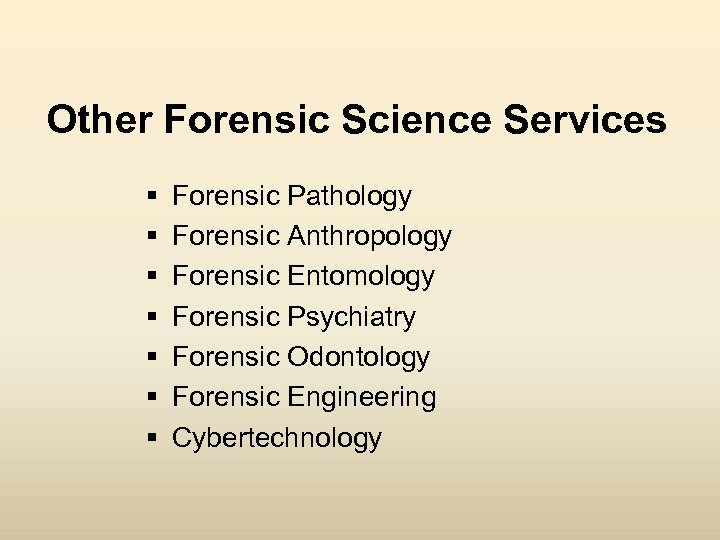 Chapters 1 And 2 Introduction To Forensic Science