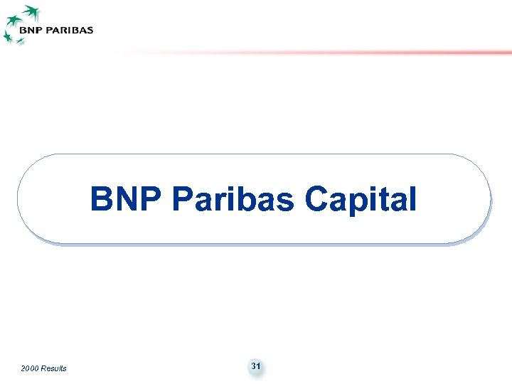 BNP Paribas Capital 2000 Results 31