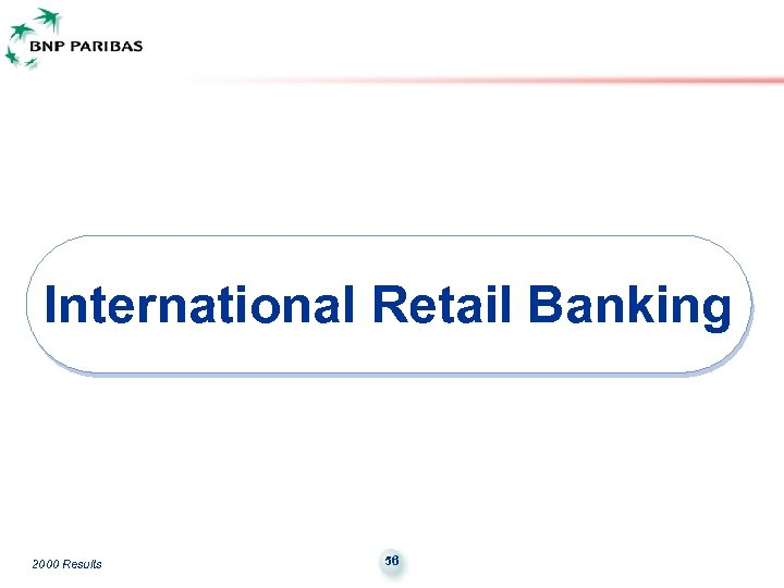 International Retail Banking 2000 Results 56