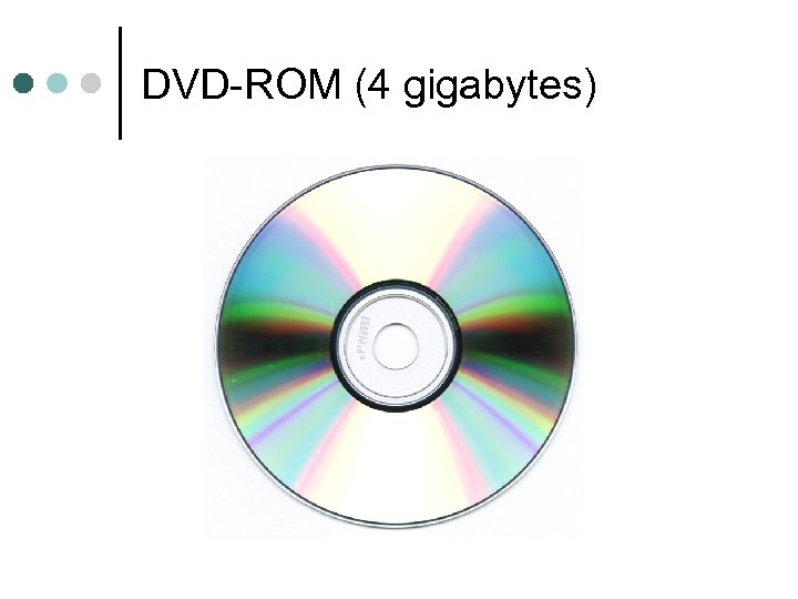 DVD-ROM (4 gigabytes)