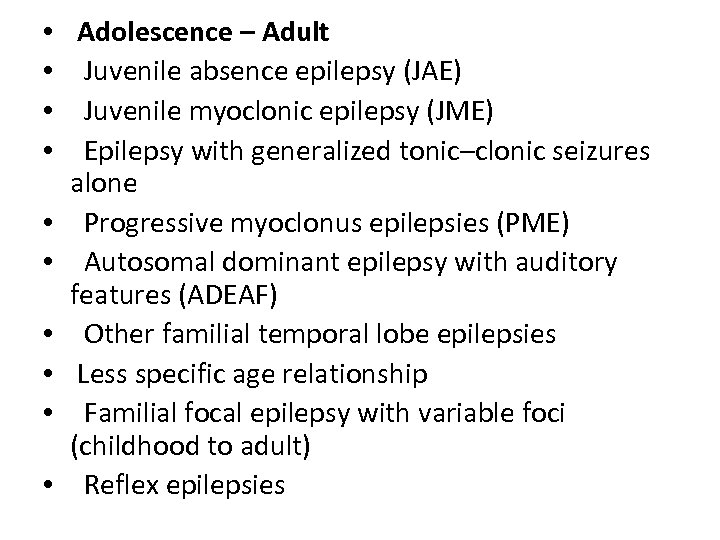 Overview of Seizures and Epilepsy Lucyna Zawadzki MD