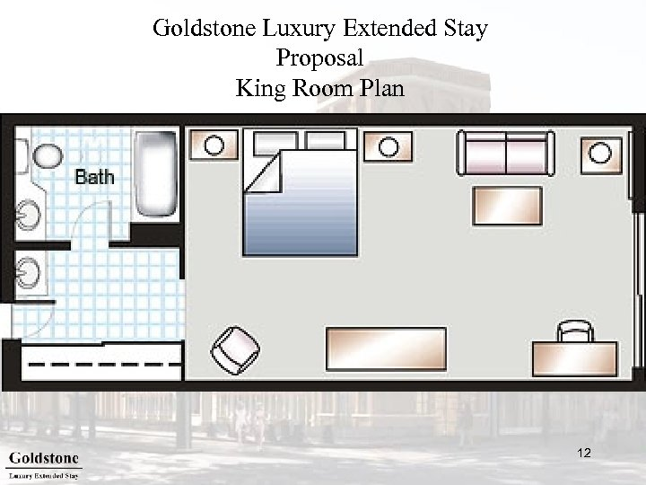 Goldstone Luxury Extended Stay Proposal King Room Plan 12