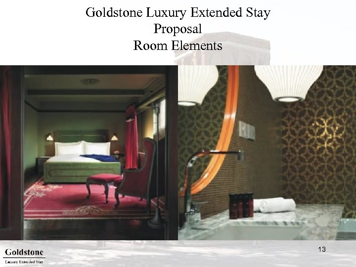 Goldstone Luxury Extended Stay Proposal Room Elements 13