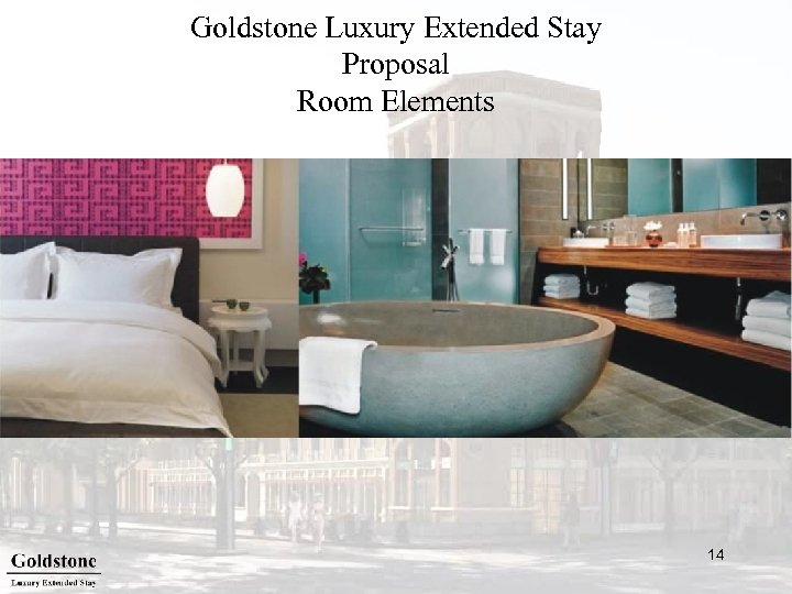 Goldstone Luxury Extended Stay Proposal Room Elements 14