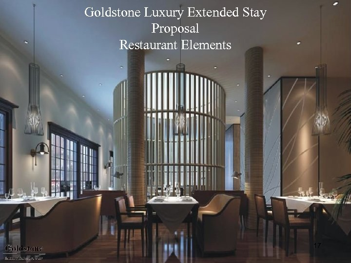 Goldstone Luxury Extended Stay Proposal Restaurant Elements 17