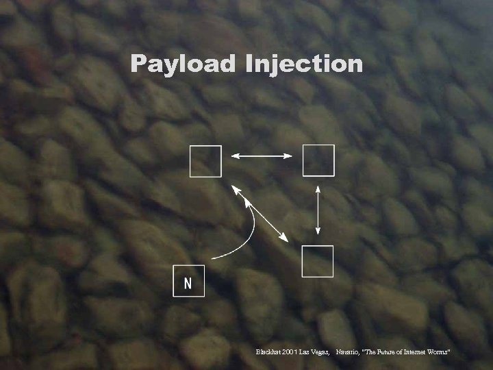 """Payload Injection Blackhat 2001 Las Vegas, Nazario, """"The Future of Internet Worms"""""""