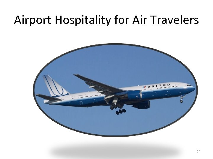 Airport Hospitality for Air Travelers 34