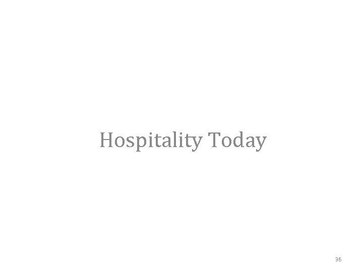 Hospitality Today 36