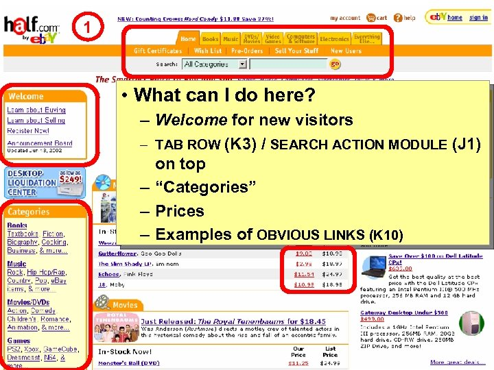 1 • What can I do here? – Welcome for new visitors – TAB