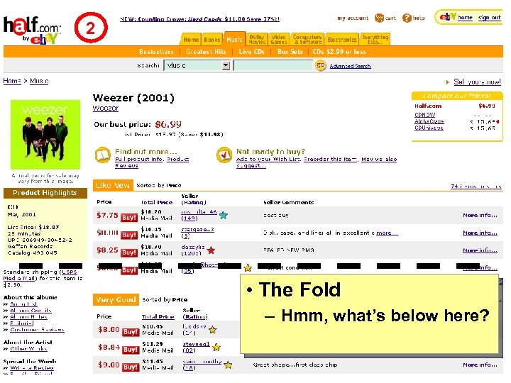 2 • The Fold – Hmm, what's below here? CSE 490 L - Spring