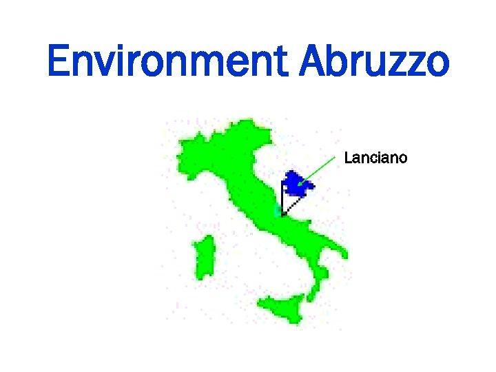 Environment Abruzzo Lanciano