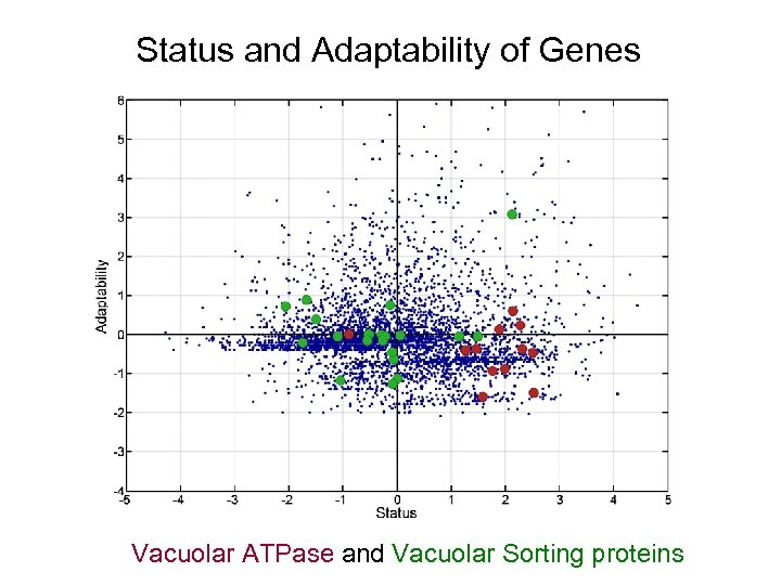Status and Adaptability of Genes Vacuolar ATPase and Vacuolar Sorting proteins