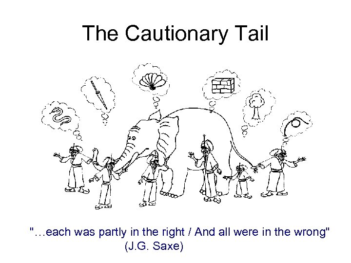The Cautionary Tail