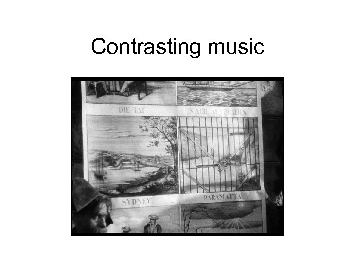 Contrasting music
