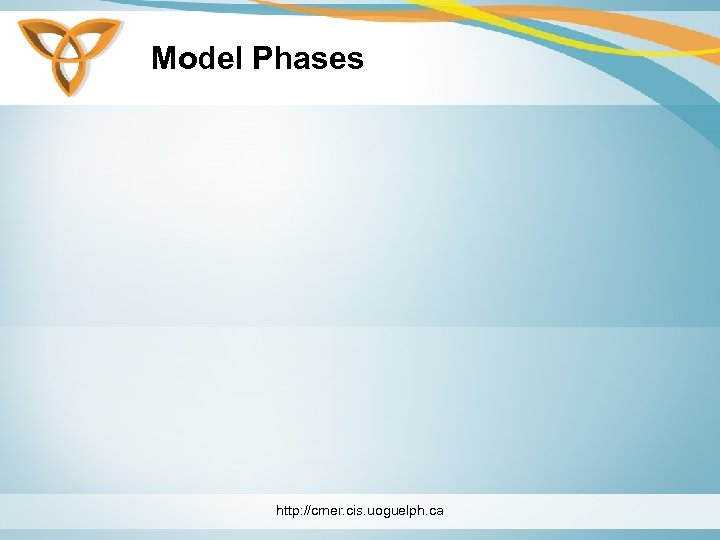Model Phases http: //cmer. cis. uoguelph. ca
