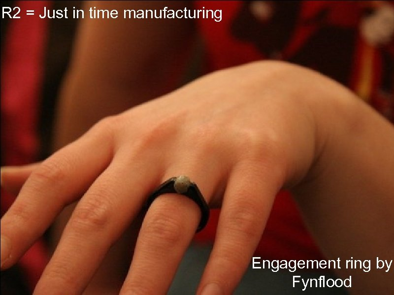 IR 2 = Just in time manufacturing Engagement ring by Fynflood