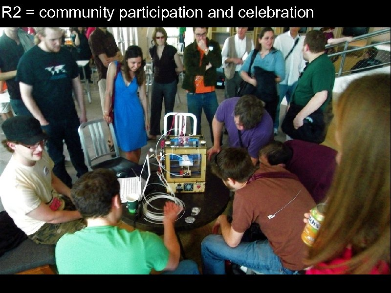 IR 2 = community participation and celebration
