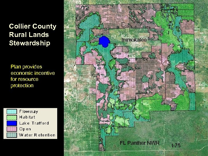 Collier County Rural Lands Stewardship Immokalee Plan provides economic incentive for resource protection FL