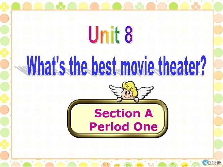 Section A Period One