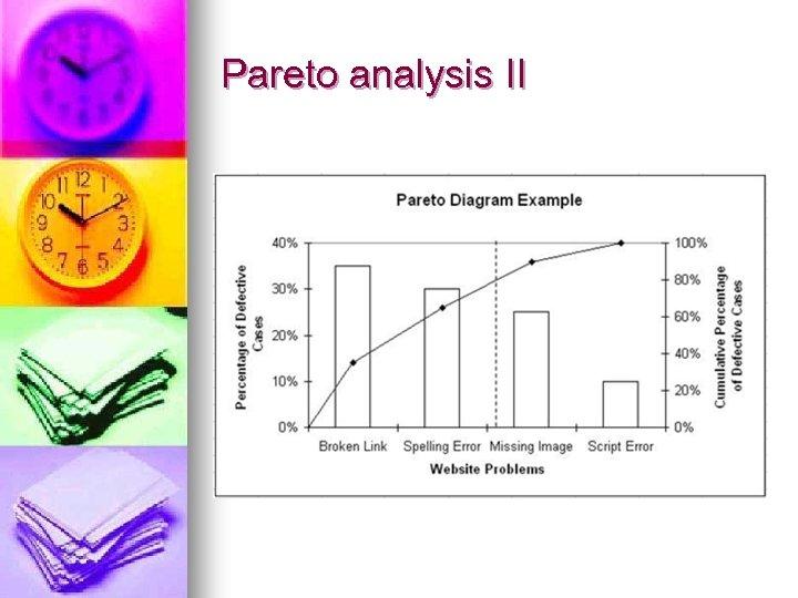 Pareto analysis II