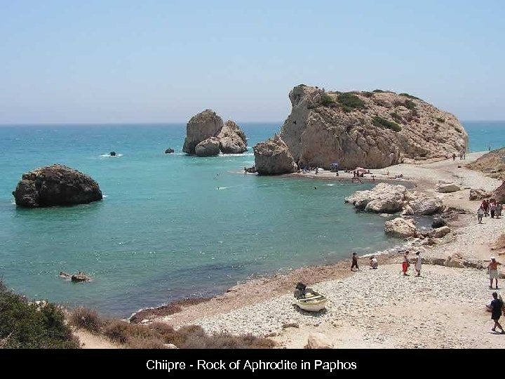 Chiipre - Rock of Aphrodite in Paphos