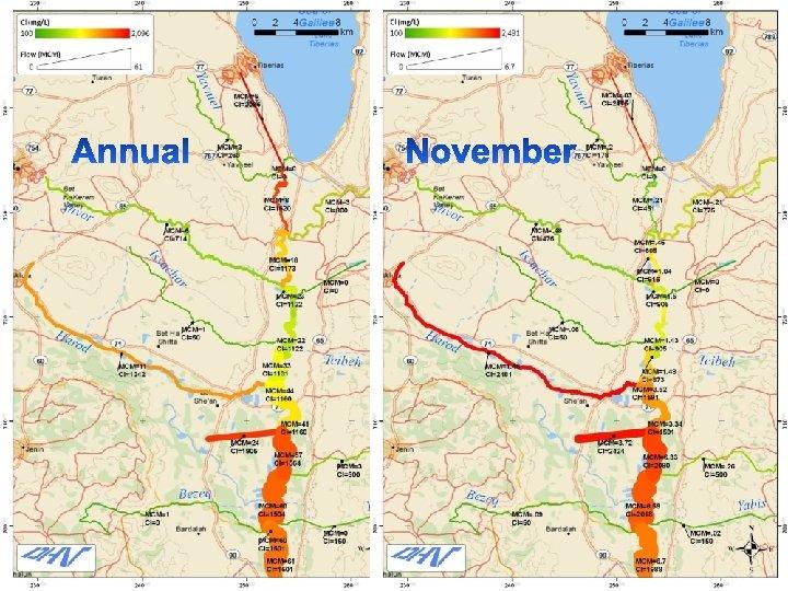 Zero alternative November 2019 §Lower flows at the SWC • Almost zero in November
