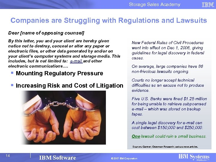 Storage Sales Academy Companies are Struggling with Regulations and Lawsuits Dear [name of opposing