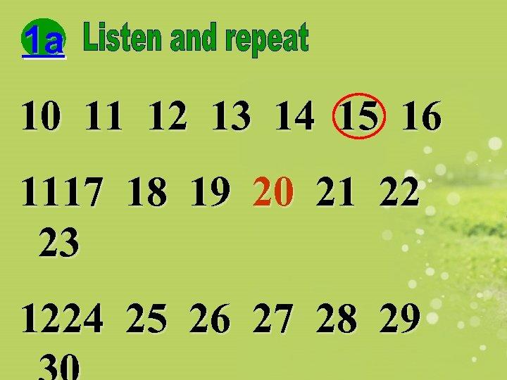 1 a 10 11 12 13 14 15 16 1117 18 19 20 21