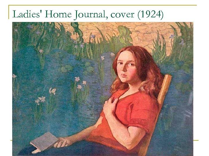 Ladies' Home Journal, cover (1924) n