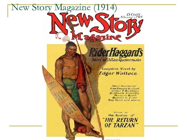 New Story Magazine (1914)
