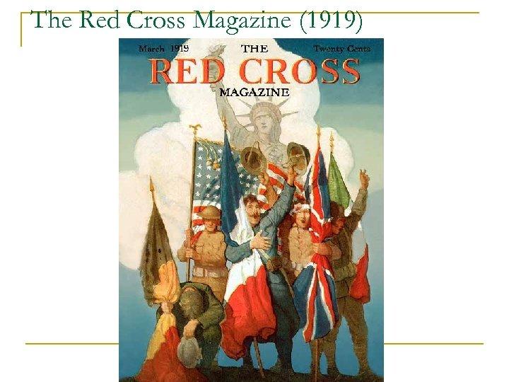 The Red Cross Magazine (1919)