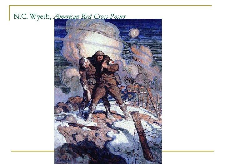 N. C. Wyeth, American Red Cross Poster