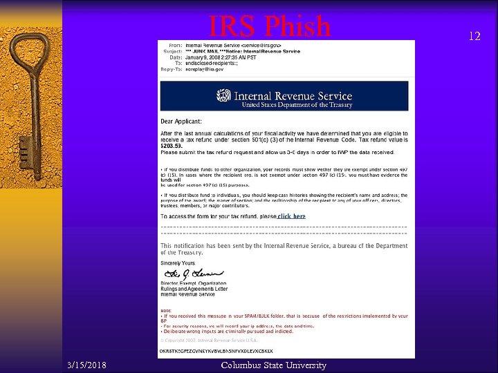 IRS Phish 3/15/2018 Columbus State University 12