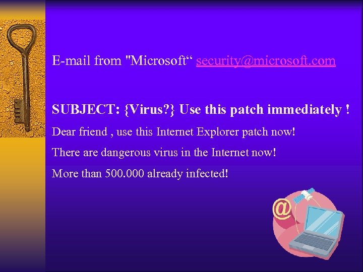 E-mail from