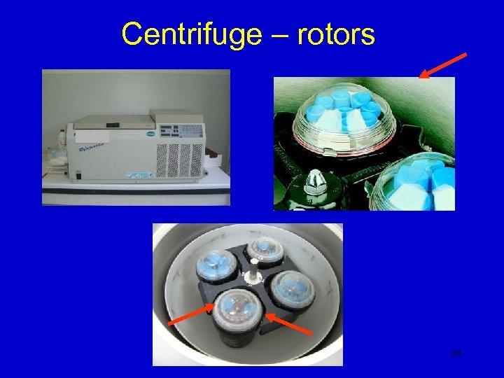 Centrifuge – rotors 24