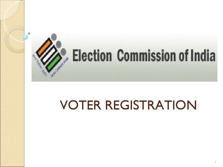 VOTER REGISTRATION 1