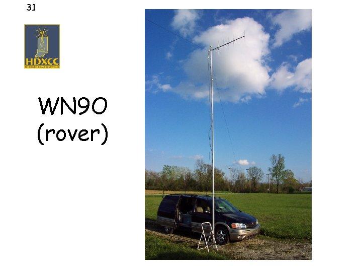 31 WN 9 O (rover)