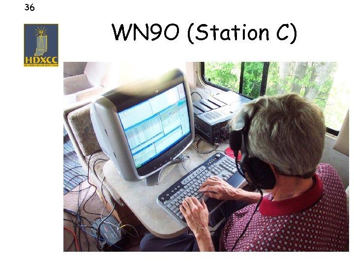 36 WN 9 O (Station C)