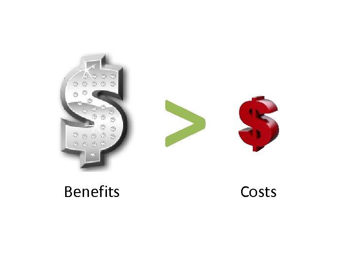> Benefits Costs