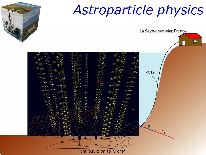 Astroparticle physics Introduction to Nikhef